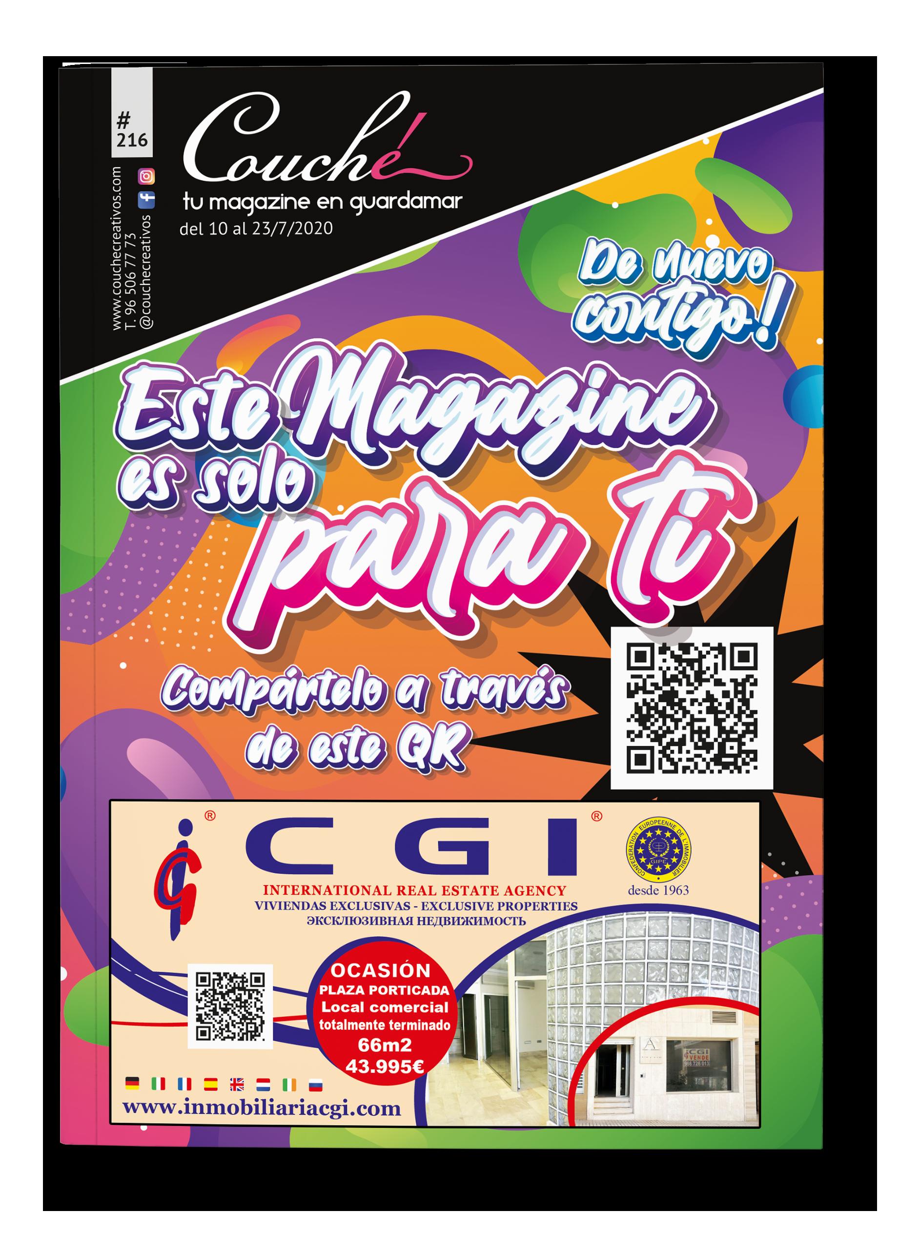 Couché Magazine portada